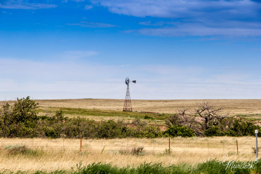 Windmill in West Texas 2